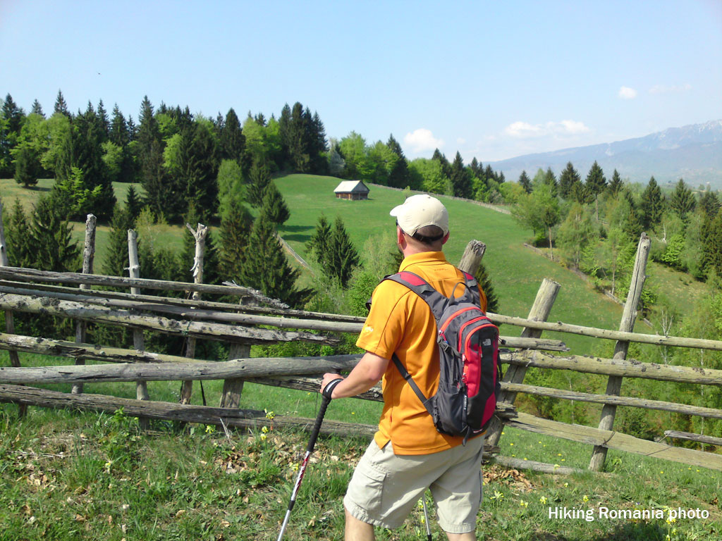Trekking around Brasov