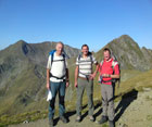 Hiking in Transylvanian alps