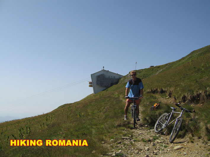Hiking in Romanian mountains